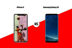 Which one is the Best Apple iPhone X Vs Samsung S8