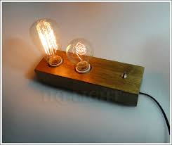 new log with 14 x difference carbon filament edison bulbs