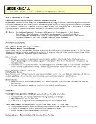 Government Affairs Strategy Template Relations Communications Manager Resume Sample Public 3 Best Collection Pr Objective