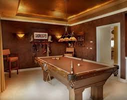 Small Billiard Room In Classic Style