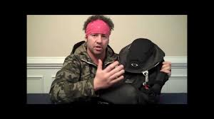 Oakley Backpack Kitchen Sink by Mark Sanders Blackout33 Oakley Kitchen Sink Bag Youtube