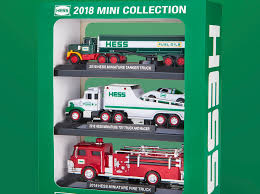 The Hess Truck's Back With Its 2018 Mini Collection | NJ.com The Hess Trucks Back With Its 2018 Mini Collection Njcom Toy Truck Collection With 1966 Tanker 5 Trucks Holiday Rv And Cycle Anniversary Mini Toys Buy 3 Get 1 Free Sale 2017 On Sale Thursday Silivecom Mini Toy Collection Limited Edition Racer 911 Emergency Jackies Store Brand New In Box Surprise Heres An Early Reveal Of One Facebook Hess Truck For Colctibles Paper Shop Fun For Collectors Are Minis Mommies Style Mobile Museum Mama Maven Blog