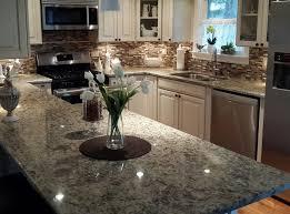 Kitchen Backsplash White Granite Countertops Marble Countertops