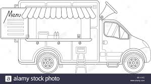 100 Truck Line Food Black And White Stock Photos Images Alamy
