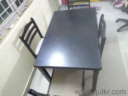 PREMIUM HomeTown High Quality 4 Seater Dining Table With Extra Chair For Sale