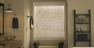 Solaire Angled Slat White Faux Wood Blinds 3 Day Blinds