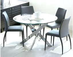 table de cuisine ronde en verre table de cuisine en verre cuisine table cuisine en verre et bois