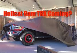 Report: Will There Be A 2021 Ram Rebel TRX With Two Monster Engine ...