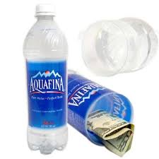 Aquafina Water Bottle Diversion Safe Can Stash 24oz