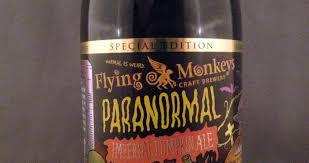 Imperial Pumpkin Ale by Flying Monkeys Paranormal Imperial Pumpkin Ale Beer Diaries