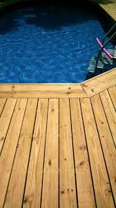 Above Ground Pool Deck Images by How To Make An Above Ground Pool Look Inground Pool Deck Ideas
