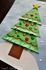 The Grinch Xmas Tree by Kids Christmas Tree Craft I Heart Crafty Things