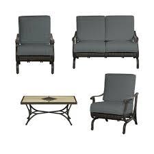 Patio Furniture Conversation Sets Home Depot by Hampton Bay Metal Patio Furniture Patio Conversation Sets