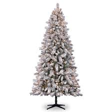 12 Ft Christmas Tree Canada by Home Decor Fetching Artificial Flocked Christmas Trees With 12 Of