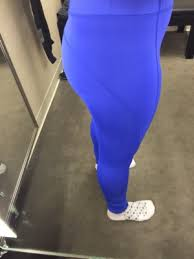 These Are The High Rise Leggings In Cobalt As I Recall They Were 62 USD