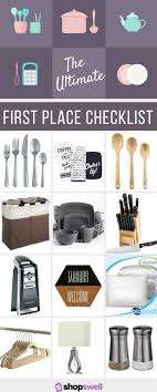 The Ultimate First Place Decor Home Living Essentials Checklist