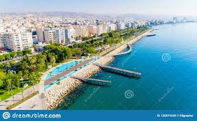 100 Molos Aerial View Of Limassol Cyprus Stock Photo Image Of Beach