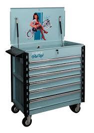 Premium Full Drawer Service Cart-Pin Up Girl Eleanor | Sunex Tools