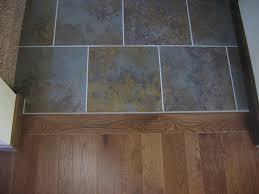 floor transition tile to wood gallery tile flooring design ideas