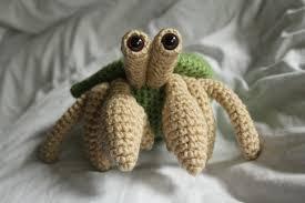 Halloween Hermit Crab by Herman The Hermit Crab Amigurumi Plush Crochet Pattern Only