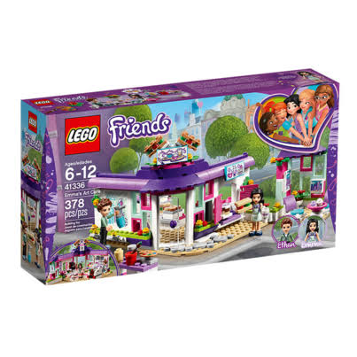 Lego Friends 41336 Emma's Art Café - 378 Pieces