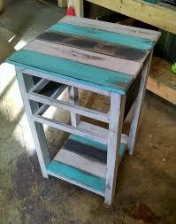 rustic pallet end tables 99 pallets