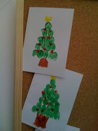 Christmas Tree Cataract by Kids Homemade Christmas Cards Christmas Lights Decoration