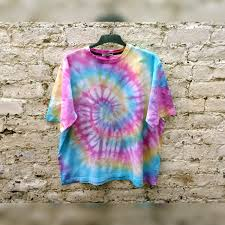 Trippy Bed Sets by Hippie Pastel Rainbow Tie Dye Shirt Trippy Psychedelic Unisex