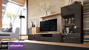 hülsta now time wohnwand 990006 in 19 designs ca h145 9 x b280 x t50 cm