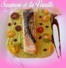 cuisine tahitienne pavé de saumon à la tahitienne sauce vanille le de cuisine