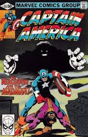 Marvel Comicss Captain America Issue 251
