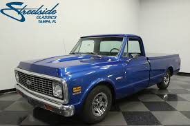 1972 Chevrolet C10 | Streetside Classics - The Nation's Trusted ... Hemmings Find Of The Day 1972 Chevrolet Cheyenne P Daily Trucks For Sale Dennis Chevy Truck Parts Pickup 4x4 Frame Off Show Pickup Sale 1 North Carolina 196372 Long Bed To Short Cversion Kit Installation Brothers Super F180 Kissimmee 2016 C10 53 Turbo Ls1tech Camaro And Febird Forum Gmc Chevy K 10 Short Bed Step Side 4 Speed California 67 72 Greattrucksonline Barn Stepside 84 Chevey Front Three Quarter 1004cct