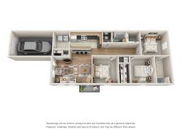 Bathroom Floor Plans With Washer And Dryer by Floorplans U2014 Vineyards Apartment