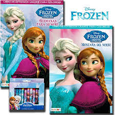 Disney Frozen Coloring Book Set With Crayons 2