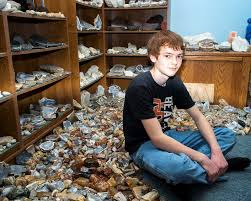 Cornelius Teen Brian True Loves To Collect Specimens And Plan Field Trips For The Tualatin Valley Rock Gem Club