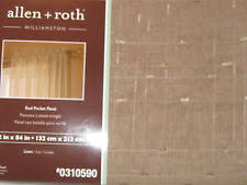 Allen Roth Curtain Rod Instructions by Allen Roth Contemporary Curtains Drapes U0026 Valances Ebay