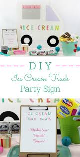 DIY Ice Cream Truck Party Sign | Cutefetti Icecream Truck Vector Kids Party Invitation And Thank You Cards Anandapur Ice Cream Kellys Homemade Orlando Food Trucks Roaming Hunger Rain Or Shine Just Unveiled A Brand New Ice Cream Truck Daily Hive Georgia Ice Cream Truck Parties Events For Children Video Ben Jerrys Goes Mobile With Kc Freeze Trucks Parties Events Catering Birthday Digital Invitations Bens Dallas Fort Worth Mega Cone Creamery Inc Event Catering Rent An