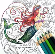 My Ariel Version On Lost Ocean Adult ColoringColoring BooksColouringBook