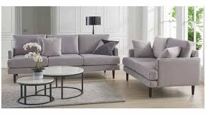 100 2 Sofa Living Room Burkley Australian Made Full Fabric Seater Warwick Fabric Regis GlacierAcapulco Glacier