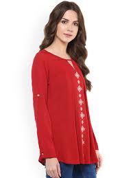 women red top buy women red top online in india