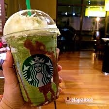 Double Chocolate Green Tea Frappuccino
