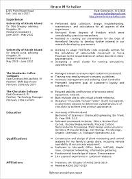 Resume Objective Examples For Manufacturing