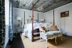 STUNNING DIY Barn Wood Ceiling Wooden Tutorial Awesome Home Decor Element To Bring Urban Country Guest Room