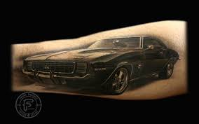 Frank Sanchez Tattoos Car 69 Camaro Tattoo
