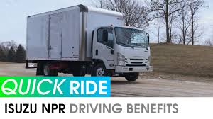 2018 Isuzu NPR // Quick Ride Review - Driving Benefits - Sellers ...
