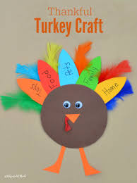 This Turkey Kid Craft Is A Great Way For Kids To Celebrate Thanksgiving And Express Those
