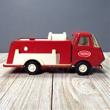 Tonka Fire Truck, Tiny Tonka Pump Fire Truck #595, 6