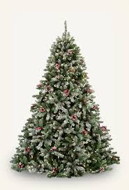 Flocking Christmas Tree With Soap by Artificial Christmas Trees