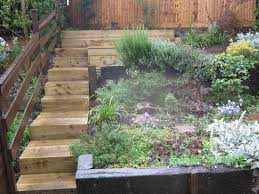 Fantastic Landscaping With Railway Sleepers For A Small Garden On ... 25 Beautiful Leveling Yard Ideas On Pinterest How To Level 7 Best Landscape Design Images Ideas For Decorating Amazing Plan A Sloped Backyard That You Should Consider Triyaecom For Steep Various Design Steep Slope To Multi Level Living Landscaping Products Supplier Lounge Ding Area Multi Level Patio Photo Trending Backyard Sloping Retaing Wall Slope Down Flat Genyard Landscape Hilly Backyards Dawnwatsonme