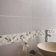 stickers carrelage salle de bain galets sol et mur riviera prune leroy merlin stickers carrelage